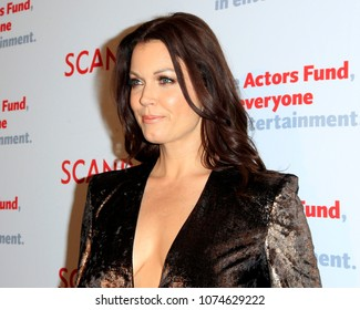 """LOS ANGELES - APR 19:  Bellamy Young at the The Actors Fund's """"Scandal"""" Finale Live Stage Reading on the El Capitan Theater on April 19, 2018 in Los Angeles, CA"""