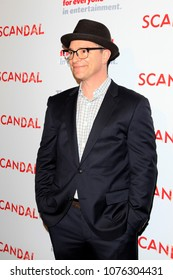 """LOS ANGELES - APR 19:  Josh Malina at the The Actors Fund's """"Scandal"""" Finale Live Stage Reading on the El Capitan Theater on April 19, 2018 in Los Angeles, CA"""