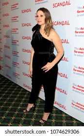 """LOS ANGELES - APR 19:  Katie Lowes at the The Actors Fund's """"Scandal"""" Finale Live Stage Reading on the El Capitan Theater on April 19, 2018 in Los Angeles, CA"""