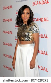 """LOS ANGELES - APR 19:  Kerry Washington at the The Actors Fund's """"Scandal"""" Finale Live Stage Reading on the El Capitan Theater on April 19, 2018 in Los Angeles, CA"""