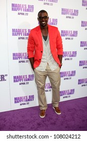 """LOS ANGELES - APR 19:  Lance Gross arriving at the """"Madea's Big Happy Family"""" Premiere at ArcLight Cinemas Cinerama Dome on April 19, 2011 in Los Angeles, CA.."""