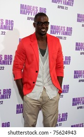 """LOS ANGELES - APR 19:  Lance Gross arrives at the """"Madea's Big Happy Family"""" Premiere at ArcLight Cinemas Cinerama Dome on April 19, 2011 in Los Angeles, CA.."""