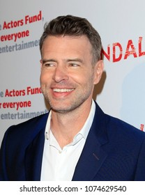 """LOS ANGELES - APR 19:  Scott Foley at the The Actors Fund's """"Scandal"""" Finale Live Stage Reading on the El Capitan Theater on April 19, 2018 in Los Angeles, CA"""