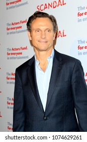 """LOS ANGELES - APR 19:  Tony Goldwyn at the The Actors Fund's """"Scandal"""" Finale Live Stage Reading on the El Capitan Theater on April 19, 2018 in Los Angeles, CA"""