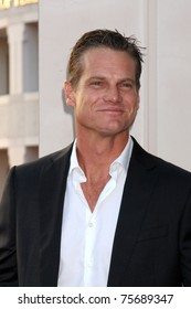 """LOS ANGELES - APR 20:  Brian Van Holt arrives at """"An Evening With Cougar Town"""" at Academy of Television Arts and Sciences on April 20, 2011 in Hollywood, CA.."""