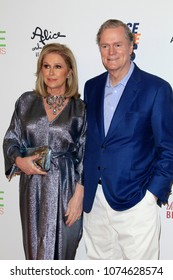 LOS ANGELES - APR 20:  Kathy Hilton, Rick Hilton at the 25th Annual Race To Erase MS Gala on the Beverly Hilton Hotel on April 20, 2018 in Beverly Hills, CA
