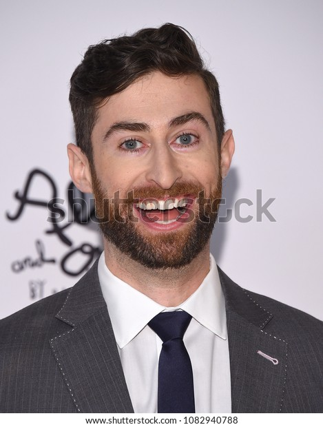 LOS ANGELES - APR 20:  Scott Rogowsky arrives to the Race to Erase MS 25th Anniversary Gala  on April 20, 2018 in Hollywood, CA