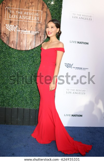 LOS ANGELES - APR 22:  Alicia Hannah at the 2017 The Humane Society Gala at Parmount Studios on April 22, 2017 in Los Angeles, CA