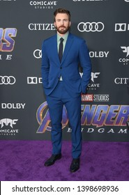 """LOS ANGELES - APR 22:  Chris Evans arrives for the """"Avengers: End Game"""" LOs Angeles Premiere on April 22, 2019 in Los Angeles, CA"""
