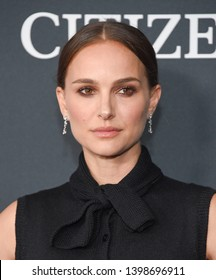 """LOS ANGELES - APR 22:  Natalie Portman arrives for the """"Avengers: End Game"""" LOs Angeles Premiere on April 22, 2019 in Los Angeles, CA"""