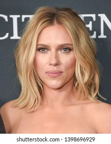 """LOS ANGELES - APR 22:  Scarlett Johansson arrives for the """"Avengers: End Game"""" LOs Angeles Premiere on April 22, 2019 in Los Angeles, CA"""