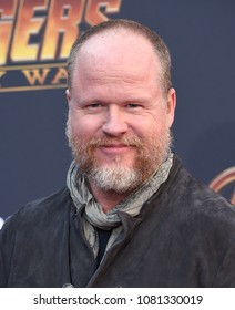 LOS ANGELES - APR 23:  Joss Whedon arrives to the Marvel Studios 'Avengers: Infinity War' World Premiere  on April 23, 2018 in Hollywood, CA