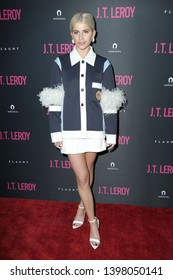 """LOS ANGELES - APR 24:  Caro Daurt at the """"J.T. Leroy""""  Premiere at the ArcLight Hollywood on April 24, 2019 in Los Angeles, CA"""