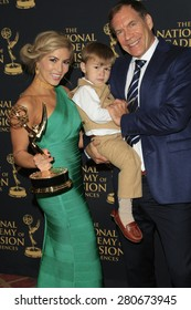 LOS ANGELES - APR 24: Elizabeth Ashley, Matthew Gerrard at The 42nd Daytime Creative Arts Emmy Awards Gala at the Universal Hilton Hotel on April 24, 2015 in Los Angeles, California