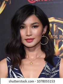 LOS ANGELES - APR 24: Gemma Chan arrives for the Warner Bros panal at CinemaCon 2018 on April 24, 2018 in Las Vegas, NV