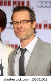 """LOS ANGELES - APR 24:  Guy Pearce arrives at the """"Iron Man 3"""" LA premiere at the El Capitan Theater on April 24, 2013 in Los Angeles, CA"""