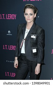"LOS ANGELES - APR 24:  Kristen Stewart at the ""J.T. Leroy""  Premiere at the ArcLight Hollywood on April 24, 2019 in Los Angeles, CA"