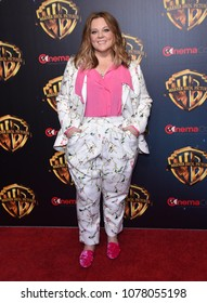 LOS ANGELES - APR 24:  Melissa McCarthy arrives for the Warner Bros panal at CinemaCon 2018 on April 24, 2018 in Las Vegas, NV