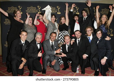LOS ANGELES - APR 24: Outstanding Travel Program, Rock the Park at The 42nd Daytime Creative Arts Emmy Awards Gala at the Universal Hilton Hotel on April 24, 2015 in Los Angeles, California