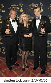 LOS ANGELES - APR 24: Ray Wise, Donna Mills, Fred Willard at The 42nd Daytime Creative Arts Emmy Awards Gala at the Universal Hilton Hotel on April 24, 2015 in Los Angeles, California