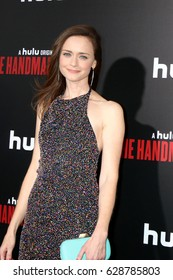 """LOS ANGELES - APR 25:  Alexis Bledel at the Premiere Of Hulu's """"The Handmaid's Tale"""" at Cinerama Dome ArcLight on April 25, 2017 in Los Angeles, CA"""