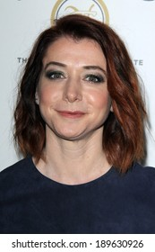 """LOS ANGELES - APR 25:  Alyson Hannigan at the 19th Annual """"Taste For A Cure"""" at Beverly Wilshire on April 25, 2014 in Beverly Hills, CA"""