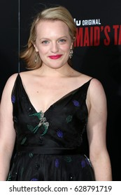 """LOS ANGELES - APR 25:  Elisabeth Moss at the Premiere Of Hulu's """"The Handmaid's Tale"""" at Cinerama Dome ArcLight on April 25, 2017 in Los Angeles, CA"""