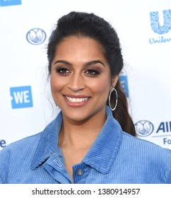 LOS ANGELES - APR 25:  Lilly Singh arrives for WE Day California 2019 on April 25, 2019 in Inglewood, CA
