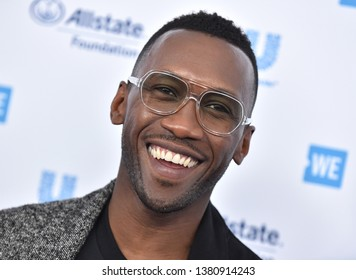 LOS ANGELES - APR 25:  Mahershala Ali arrives for WE Day California 2019 on April 25, 2019 in Inglewood, CA