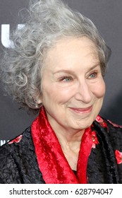 """LOS ANGELES - APR 25:  Margaret Atwood at the Premiere Of Hulu's """"The Handmaid's Tale"""" at Cinerama Dome ArcLight on April 25, 2017 in Los Angeles, CA"""