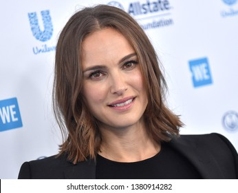 LOS ANGELES - APR 25:  Natalie Portman arrives for WE Day California 2019 on April 25, 2019 in Inglewood, CA
