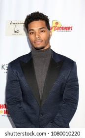 LOS ANGELES - APR 25:  Rome Flynn at the NATAS Daytime Emmy Nominees Reception at Hollywood Museum on April 25, 2018 in Los Angeles, CA