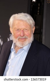 """LOS ANGELES - APR 25:  Theodore Bikel arrives at the TCM Classic Film Festival Opening Night Red Carpet """"Funny Girl"""" at the Chinese Theater on April 25, 2013 in Los Angeles, CA"""