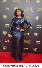 LOS ANGELES - APR 26:  Angell Conwell at the 2015 Daytime Emmy Awards at the Warner Brothers Studio Lot on April 26, 2015 in Burbank, CA