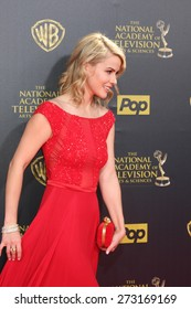 LOS ANGELES - APR 26:  Linsey Godfrey at the 2015 Daytime Emmy Awards at the Warner Brothers Studio Lot on April 26, 2015 in Burbank, CA