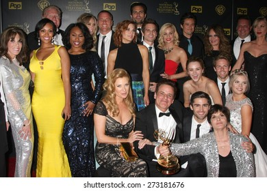 LOS ANGELES - APR 26:  Young and Restless - Best Drama at the 2015 Daytime Emmy Awards at the Warner Brothers Studio Lot on April 26, 2015 in Los Angeles, CA