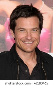 """LOS ANGELES - APR 27:  Jason Bateman arriving at the """"Bridesmaids"""" Premiere at Village Theater on April 27, 2011 in Westwood, CA.."""
