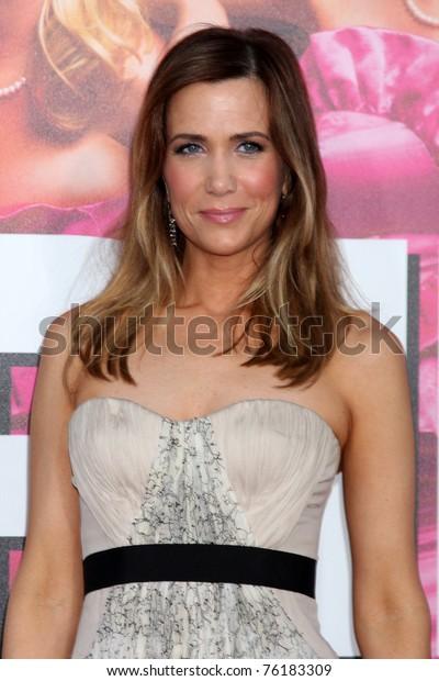 Los Angeles Apr 27 Kristen Wiig Stock Photo Edit Now 76183309