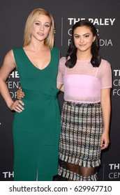 """LOS ANGELES - APR 27:  Lili Reinhart, Camila Mendes at the """"Riverdale"""" Screening and Conversation at the Paley Center for Media on April 27, 2017 in Beverly Hills, CA"""