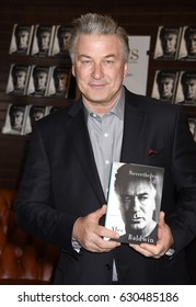 "LOS ANGELES - APR 29:  Alec Baldwin arrives to the Alec Baldwin ""Nevertheless"" Booksigning  on April 29, 2017 in Los Angeles, CA"