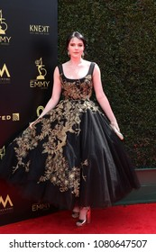 LOS ANGELES - APR 29:  Cait Fairbanks at the 45th Daytime Emmy Awards at the Pasadena Civic Auditorium on April 29, 2018 in Pasadena, CA