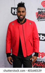 LOS ANGELES - APR 3:  Jason Derulo at the iHeart Radio Music Awards 2016 Arrivals at the The Forum on April 3, 2016 in Inglewood, CA