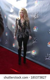 """LOS ANGELES - APR 3:  Shakira at the """"The Voice"""" Judges Photocall - April 2014 at The Sayers Club on April 3, 2014 in Los Angeles, CA"""