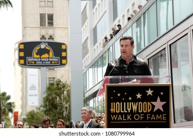 LOS ANGELES - APR 30:  Carson Daly at the *NSYNC Star Ceremony  on the Hollywood Walk of Fame on April 30, 2018 in Los Angeles, CA
