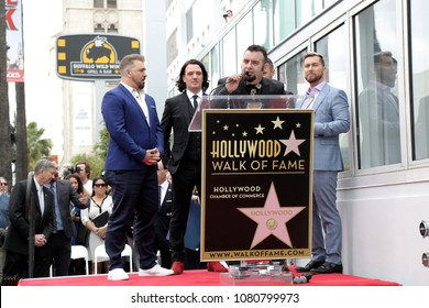 LOS ANGELES - APR 30:  Chris Kirkpatrick, NSYNC at the *NSYNC Star Ceremony  on the Hollywood Walk of Fame on April 30, 2018 in Los Angeles, CA