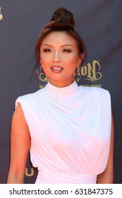 LOS ANGELES - APR 30:  Jeannie Mai at the 44th Daytime Emmy Awards - Arrivals at the Pasadena Civic Auditorium on April 30, 2017 in Pasadena, CA