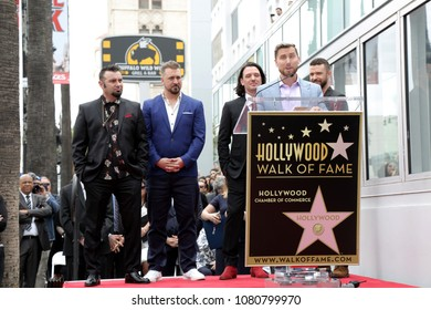 LOS ANGELES - APR 30:  Lance Bass, NSYNC at the *NSYNC Star Ceremony  on the Hollywood Walk of Fame on April 30, 2018 in Los Angeles, CA