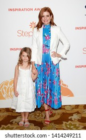 LOS ANGELES - APR 31:  JoAnna Garci?a Swisher, daughter Emerson at the Step Up Inspiration Awards at the Beverly Hilton Hotel on April 31, 2019 in Beverly Hills, CA