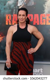 """LOS ANGELES - APR 4:  Dany Garcia at the """"Rampage"""" Premiere at Microsoft Theater on April 4, 2018 in Los Angeles, CA"""