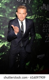 """LOS ANGELES - APR 5:  Charlie Hunnam at the """"The Lost City of Z"""" Premiere at ArcLight Hollywood on April 5, 2017 in Los Angeles, CA"""